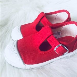 Other - Angelitos T-Strap Flat Sneakers